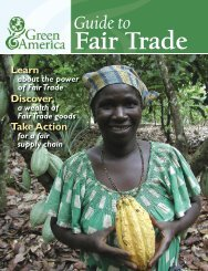 Guide to Fair Trade - Green America
