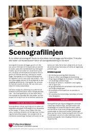 Scenografilinjen (pdf) - Folkuniversitetet