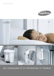 Luna 2.0 showerMAID Folder - Hagleitner