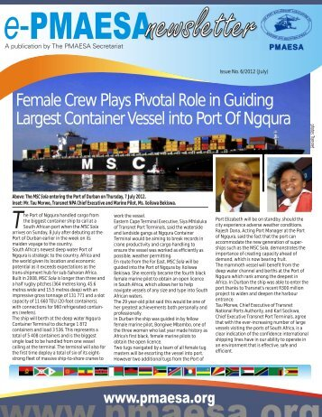 ePMAESA Newsletter July 2012