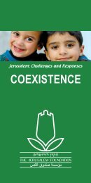 COEXISTENCE - Jerusalem Foundation