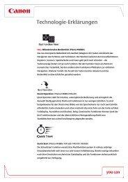 PIXMA Technologie Erklärungen [PDF, 246  KB]