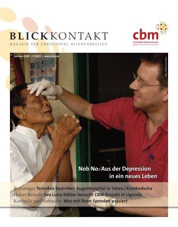 Eva Luise Köhler besucht Cbm-Projekt in Uganda - Christoffel ...