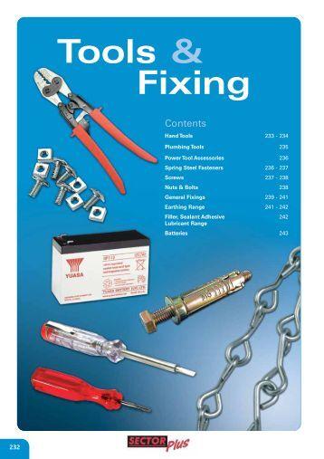 Tools & Fixing - WF Senate