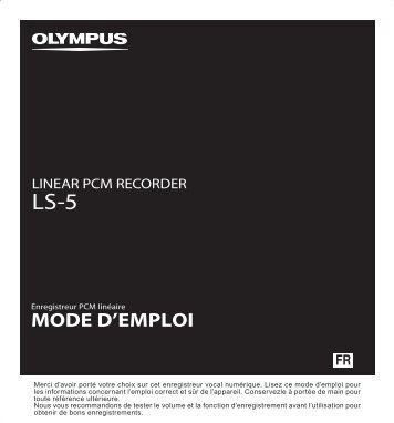 Appuyez sur la touche - Olympus