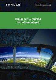 Thales sur le marché de l'aéronautique - Thales Group