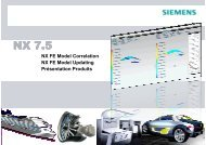 du modèle EF (design variables) - Siemens PLM Software