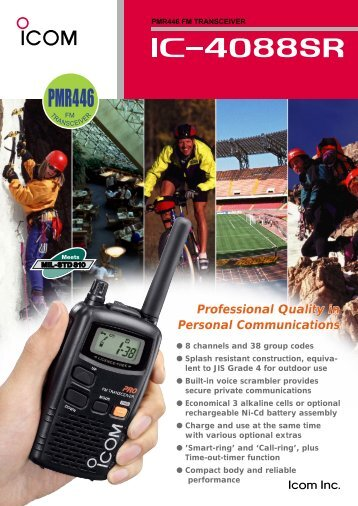 ICOM-IC-F4088SR-UHF-05Watt-100218.pdf - Communications ...