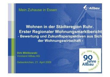 Dirk Miklikowski - Wohnungsmarktbeobachtung
