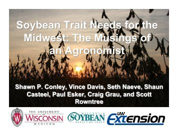 Soybean Trait Needs for the Midwest - SoyBase