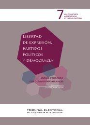 Libertad de expresión, partidos políticos y democracia - Tribunal ...