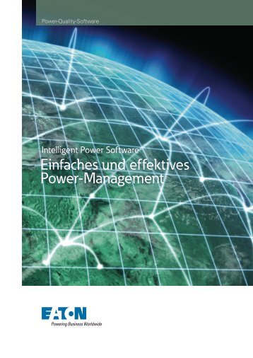 Eaton Intelligent Power Software - AmpPower