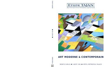 Art Moderne & Contemporain - Tajan