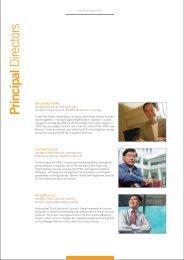 Principal Directors - Singapore Tourism Board