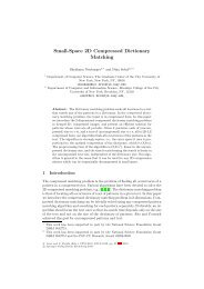 Small-Space 2D Compressed Dictionary Matching - Computer and ...