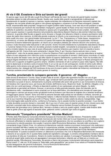 Giornali - Rifondazione.Padova.It