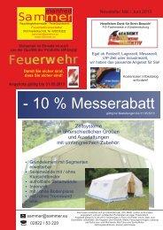 - 10 % Messerabatt - Manfred Sammer