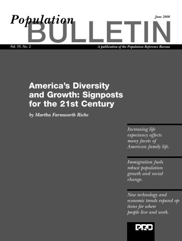 America's Diversity and Growth: Signposts for the 21st Century