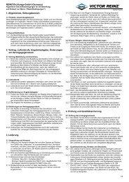 1. Allgemeines, Geltungsbereich. 2. Vertrag, Lieferabrufe ... - reinz