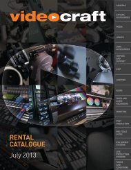 Rent Catalogue PDF - Videocraft