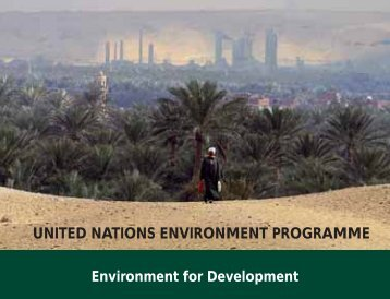 Environment for Development - UNEP