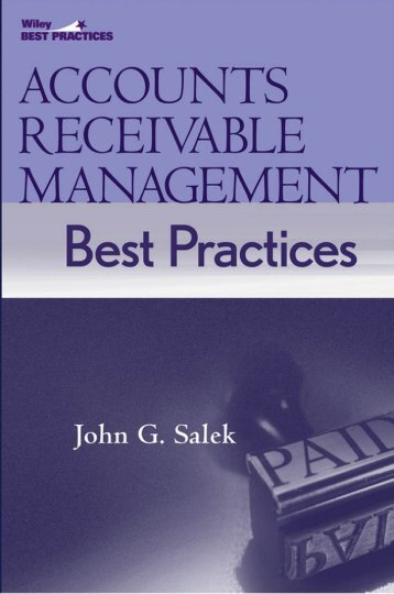 Accounts receivable management best practices - JPS Accounting Forums