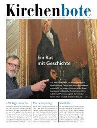 Kirchenbote Mai 2013 - Evangelische Landeskirche des Kanton ...