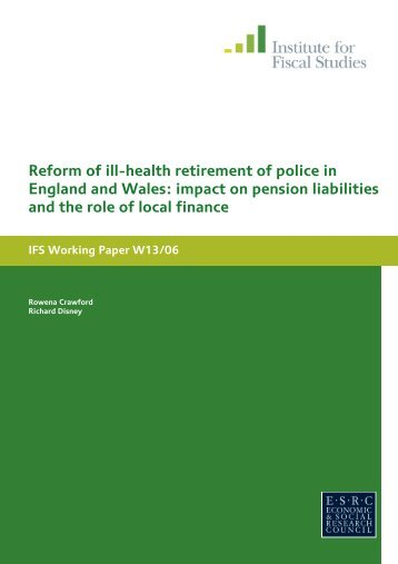 Download full version (PDF 514 KB) - The Institute For Fiscal Studies
