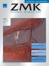 Ausgabe 11/2013 - ZMK-Aktuell