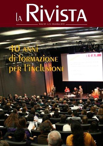 40 anni di formazione per l'inclusione - Camera di Commercio ...