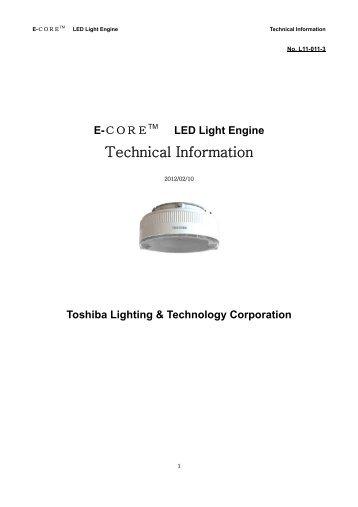 E-CORETM LED Light Engine - Toshiba