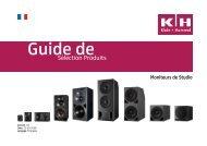 Sélection Produits - Klein + Hummel