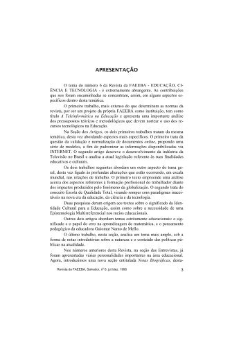 Edição Nº 06 - Uneb