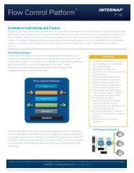 Flow Control PlatformTM - Internap