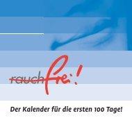 Der Kalender für die ersten 100 Tage! - Jugend(Sucht)Beratung ...