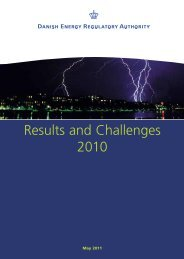 Results and Challenges 2010 - Energitilsynet
