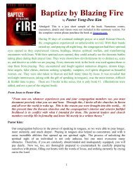 Baptize by Blazing Fire - Free CD Tracts