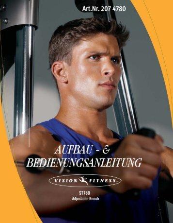 Aufbau- und Bedienungsanleitung - Sport-Thieme