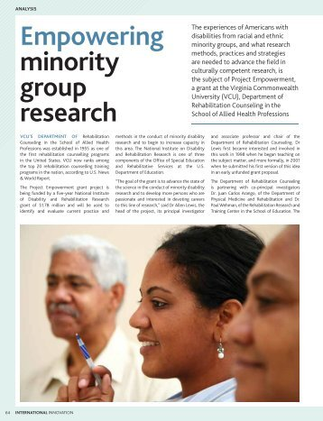 health status of minority group A minority group refers to a category wealth, health or of a given minority group will be accorded the status of that group and be.