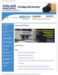 Kelar Pacific Newsletter - February 2010