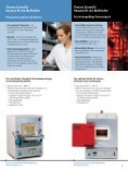 Thermo Scientific Heraeus® Hochtemperaturöfen - Fisher Scientific - Seite 3
