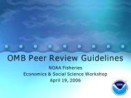 OMB Peer Review Bulletin - Office of Science and Technology - NOAA