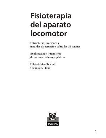 Fisioterapia del aparato locomotor - Editorial Paidotribo