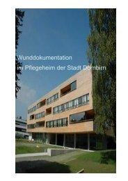 Wunddokumentation im Pflegeheim der Stadt Dornbirn