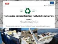 Kokemuksia LM-jäteprojektista - Tampereen teknillinen yliopisto