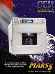 MARS 5... Conçu pour la sécurité! - CEM Gmbh