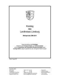 Kreistag des Landkreises Lüneburg - Amt-Neuhaus