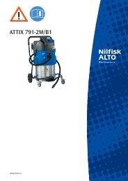 ATTIX 791-2M_B1 302001675 C - Nilfisk PARTS - Nilfisk-Advance