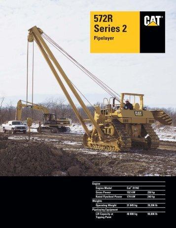 AEHQ5574-02, 572R Series 2 Pipelayer Specalog