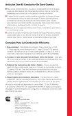 Sugerencias para el Conductor. - Cummins Engines - Page 6